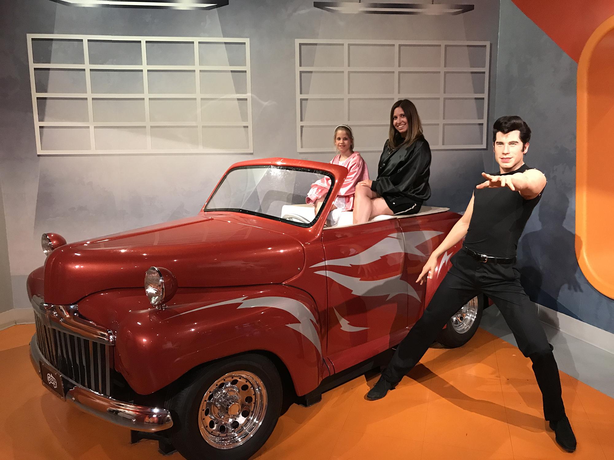 Móka és kacagás Hollywoodban, a Madame Tussauds múzeumban